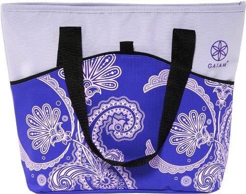 gaiam-picnic-tote-purple-paisley