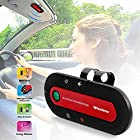 iMounTEK Bluetooth Speaker Kit - Hands Free Cell Phone in the Car, Includes Visor Clip and Car Charger, Bluetooth 3.0, 16 Hour Talk Time, Voice Prompt