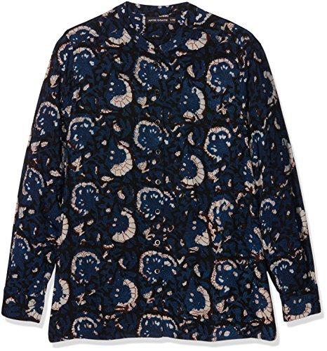 Antik Batik Valy, Camicia Donna, Blu ( Blue), 42