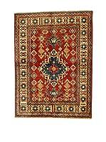 L'EDEN DEL TAPPETO Alfombra Uzebekistan Rojo/Multicolor 120 x 164 cm