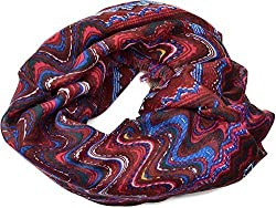 Collection XIIX Womens vintage Collection Square oversize Wrap/ Scarf (Beet)