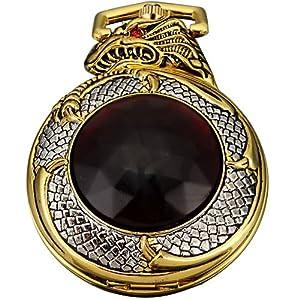 Ampm24 mens golden dragon dangle pendant for Dragon gifts for men
