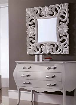 Classic mirrors : SARTRE Model white colour