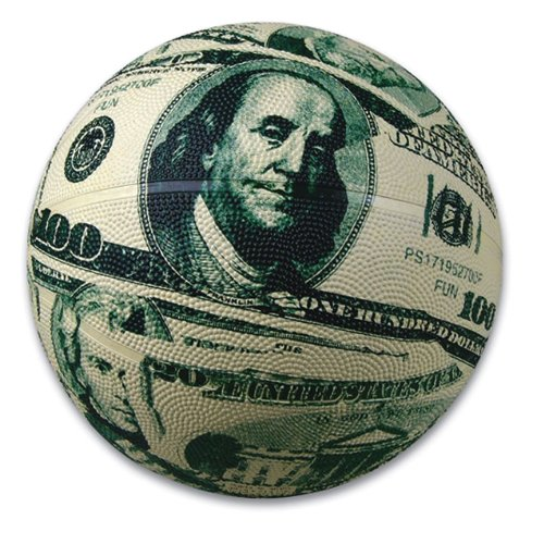 Money Micro Basketball (1 ball) - 1