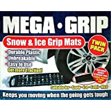 Tooltime Mega Grip Snow and Ice Traction Grip Mats