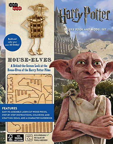 IncrediBuilds: Harry Potter: House-Elves Deluxe Book and Model Set