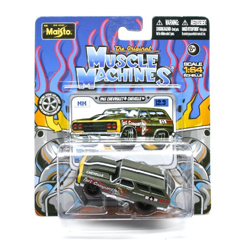 1965 Chevrolet Chevelle (Fast Company) * The Original Muscle Machines * Series 12 Maisto 1:64 Scale Die-Cast Vehicle Collection