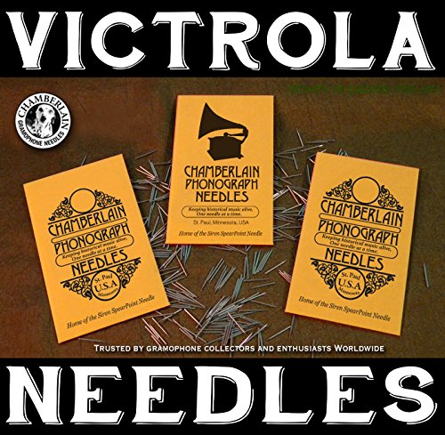 300 Softest Tone Victrola Phonograph Needles By Chamberlain Phonograph Needles, St. Paul, MN