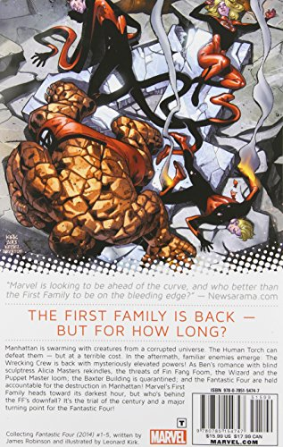 FANTASTIC FOUR 01 FALL OF FANTASTIC FOUR