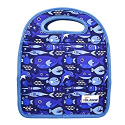 Volador Neoprene Lunch Bags Portable Insulated Lunch Bags Waterproof Picnic Lunch Food Handbag