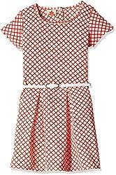UFO Girls' Dress (AW16-WF-GKT-020_Coral_2 - 3 years)