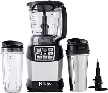 Nutri Ninja Auto-iQ Compact Blender System with Nutri Ninja Cups