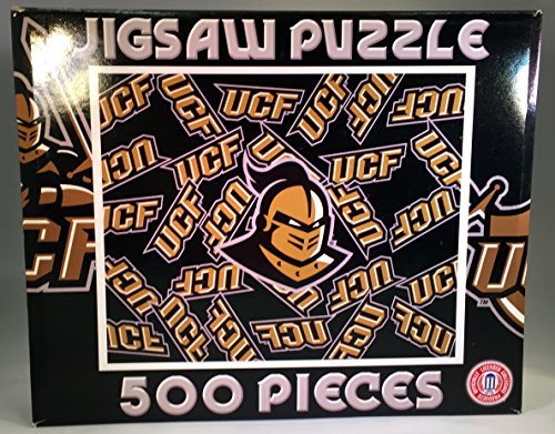 "NCAA University of Central Florida Golden Knights Logo Puzzle - 16""x20"" 500 Piece Puzzle - 1"