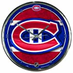 NHL Montreal Canadiens Chrome Clock