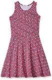 Fox Girls' Casual Dress  (Dark Fuschia_10 years_750101)
