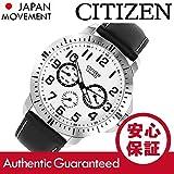 CITIZEN (シチズン) AG8310-08A マルチファンクションカレンダー レザーベルト ミリタリー メンズウォッチ 腕時計 [並行輸入品]