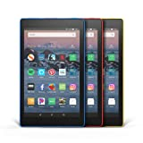 Fire HD 8 3-Pack, 32GB - Includes Special Offers (Marine Blue/Punch Red/Canary Yellow) (Color: Marine Blue/Punch Red/Canary Yellow)