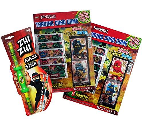 LEGO Ninjago Trading Cards - 2er SET MULTI-PACK No 2 (