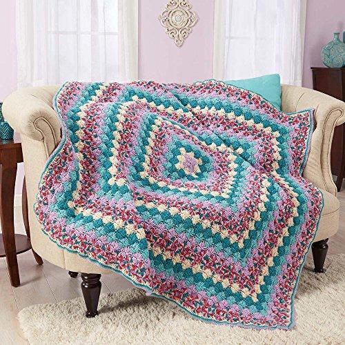 Herrschners Wildflower Fields Crochet Afghan Kit Import It All