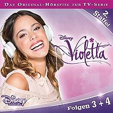 Violetta 3 & 4 (Violetta Staffel 2) Hörspiel von Gabriele Bingenheimer Gesprochen von:  div.