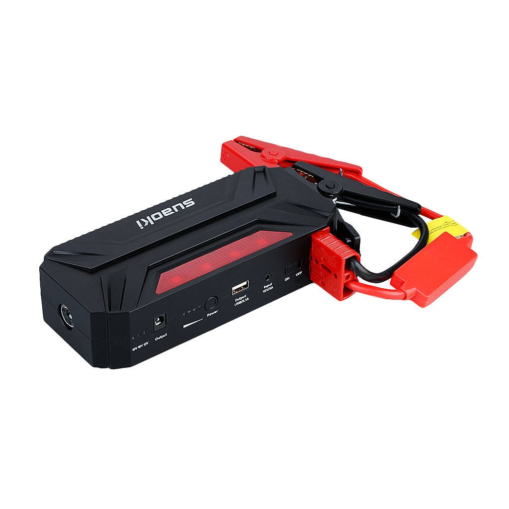 Suaoki T3 600A Peak 18000mAh Portable Car Jump Starter&Power Bank
