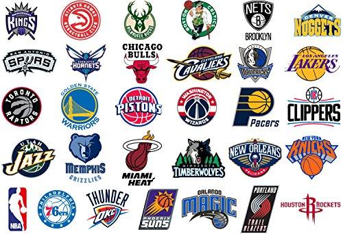 Pack 31 adesivi NBA