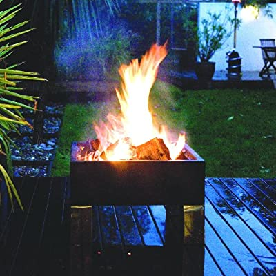 Fire Pit - Square Brazier by Hotspot