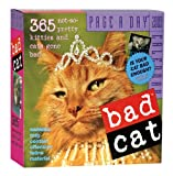 Bad Cat Page-A-Day Calendar 2009