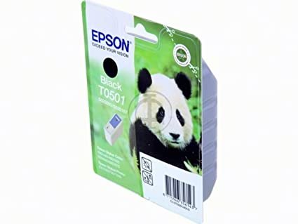 Epson PM 770 (T0501 / C 13 T 05014010) - original - Ink cartridge black - 540 Pages - 15ml
