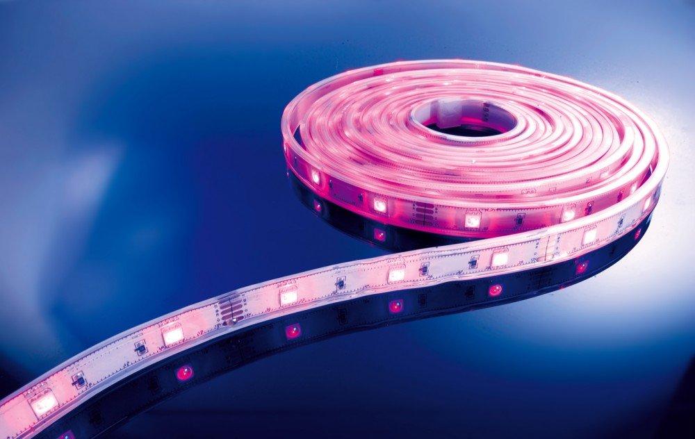 KapegoLED Flexibler LED Stripe, 5050, SMD, RGB, 12 V DC, 36 W 840103
