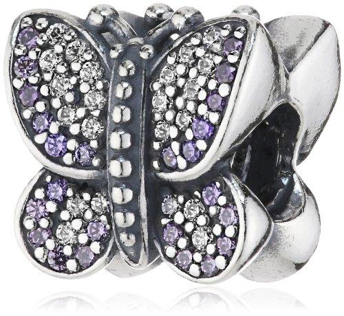 Pandora Bead Sparkling Butterfly Purple 791257ACZ