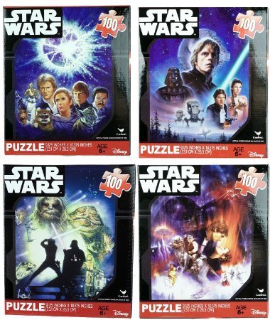 Star-Wars-Classic-Original-100-Piece-Jigsaw-Puzzles-Set-of-4