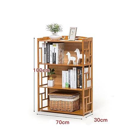 Book Jia librerie Libreria semplice in scaffale / Libreria in legno multistrato per mensole / scaffali per bambini ( dimensioni : 70*30*100cm )