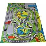 Railway playmat