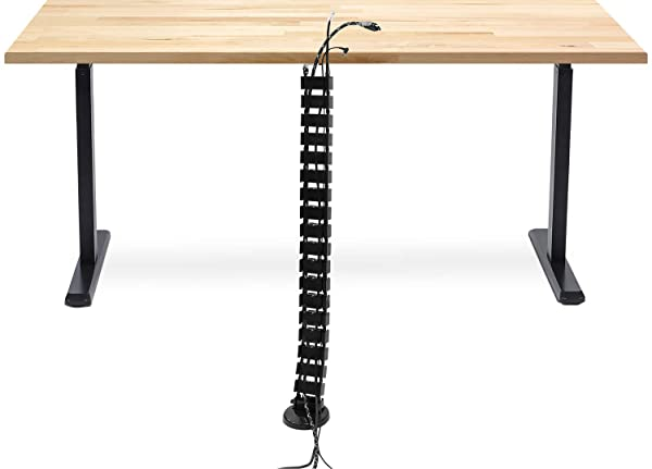 Vertebrae Cable Management Spine Kit Height Adjustable Wire Desk Cord Organizer