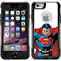 Superman - Closeup design on a Black OtterBox® Commuter Series® Case for iPhone 6