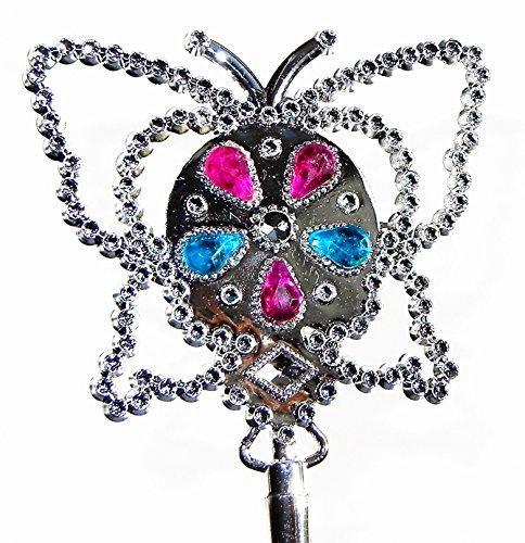 Butterfly Princess Wand- Flashing LED Lights
