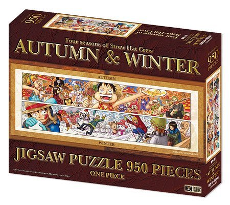 "ONE PIECE Jigsaw Puzzle ~ Four seasons of Straw Hat Crew ""AUTUMN & WINTER"" ~ One Piece Exhibition (japan import)"