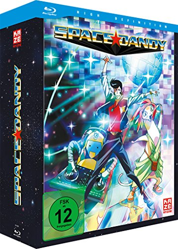 Space Dandy, Blu-ray
