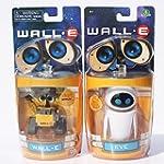 WALL E - SET 2 FIGURAS EVE & WALL.E E...