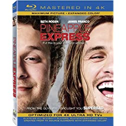 Pineapple Express (Mastered in 4K) (Single-Disc Blu-ray + Ultra Violet Digital Copy)