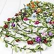 Haarkranz Blumen Damen M�dchen Hochzeit Kommunion Blumenhaarkranz (Wei�)