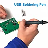 NAMEO Professional Portable USB Powered Soldering Iron Pen 5V 8W with LED Indicator for DIY Soldering Welding Jobs