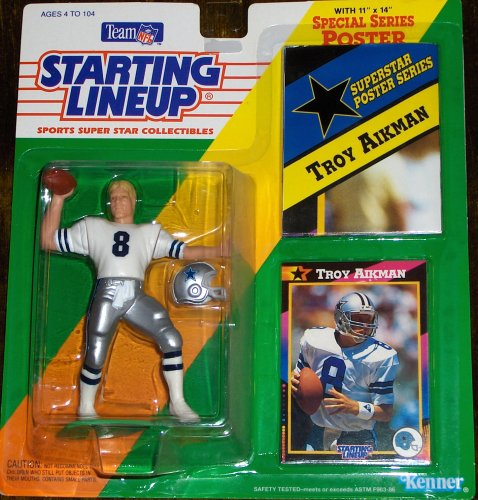 Troy Aikman 1992 Starting Lineup - 1