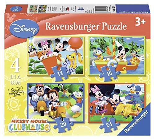 Mickey Mouse Clubhouse - Puzzle 4 en la caja (Ravensburger 07142 5)