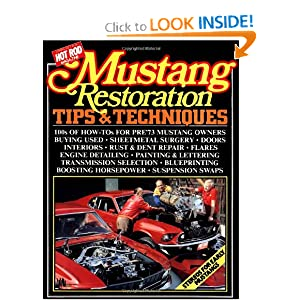 Mustang Restoration Tips and Techniques R. M. Clarke