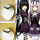 Cosplay Black Lolita Bell Choker Cat Gothic Collar Anime Fancy Necklace Pendants