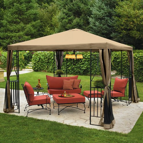 Deck canopies deck canopy patio covers place - Ikea pergolas jardin ...