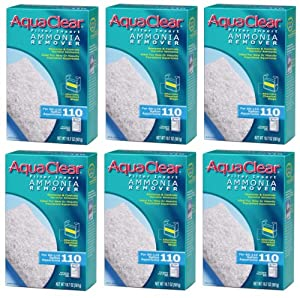 AquaClear 110 Ammonia Remover Insert - 19.7 Ounces (6-Pack)