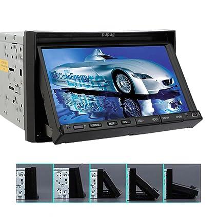 """HD 7 """"?cran tactile lecteur DVD de voiture 6.2 pouces Double Din En Dash HD š€ šŠcran tactile Support radio stšŠršŠo Bluetooth / SD / USB // Iphone / AM / FM / AV-IN Car DVD / CD / PC Video Player"""